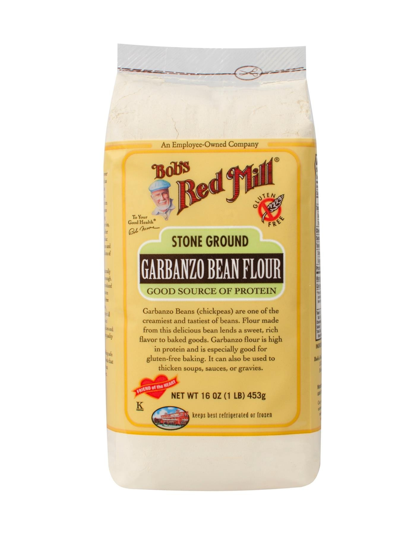 Bob's Red Mill Gluten Free Garbanzo Bean Flour 4/16oz ...  Garbanzo