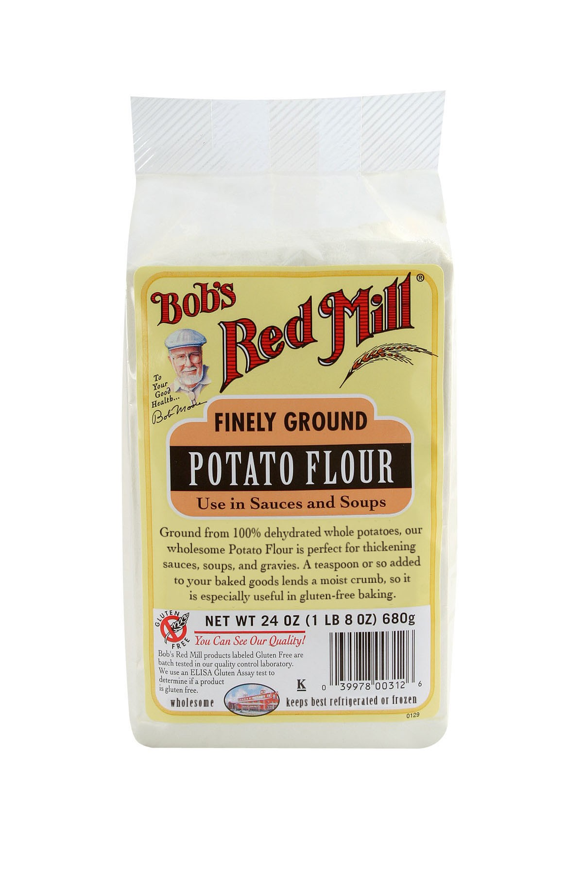 Bob S Red Mill Gluten Free Potato Flour 4 24oz Mill