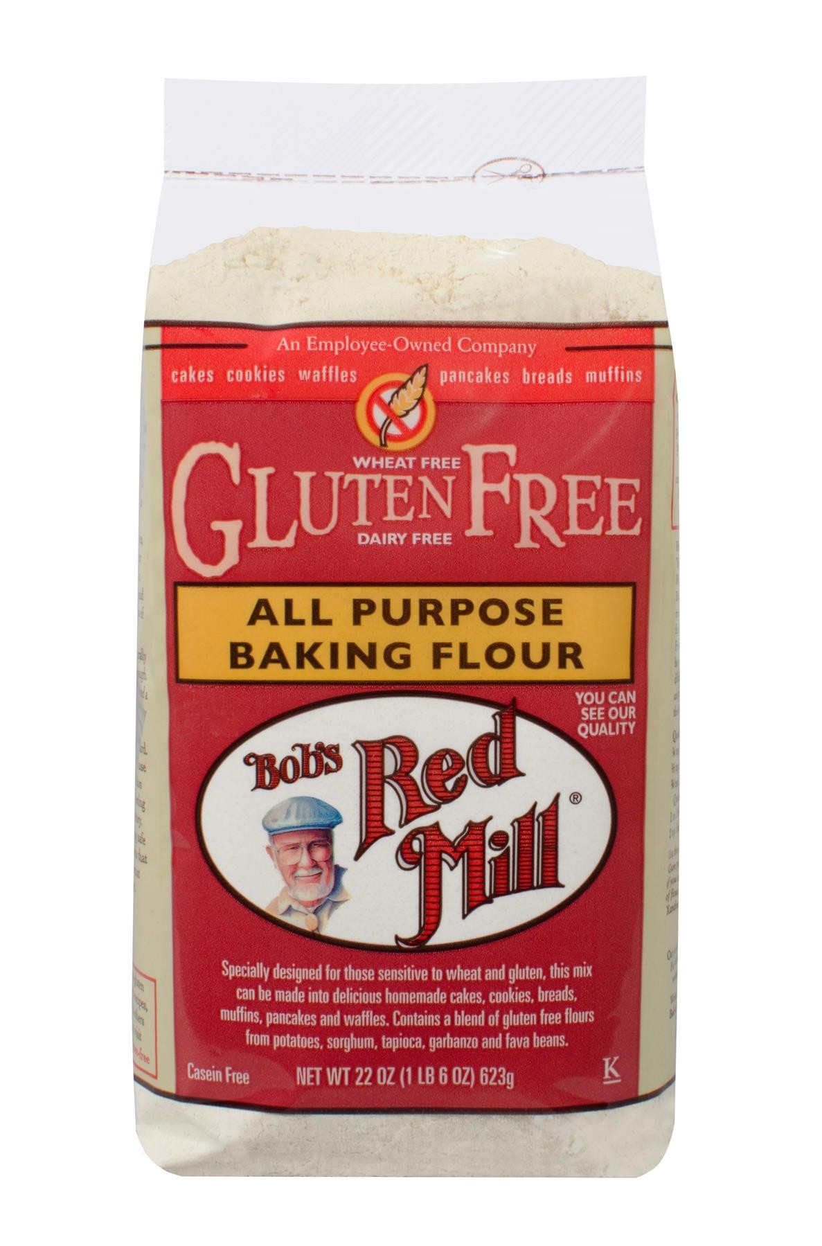 Bob's Red Mill Gluten Free All Purpose Baking Flour 4/22oz
