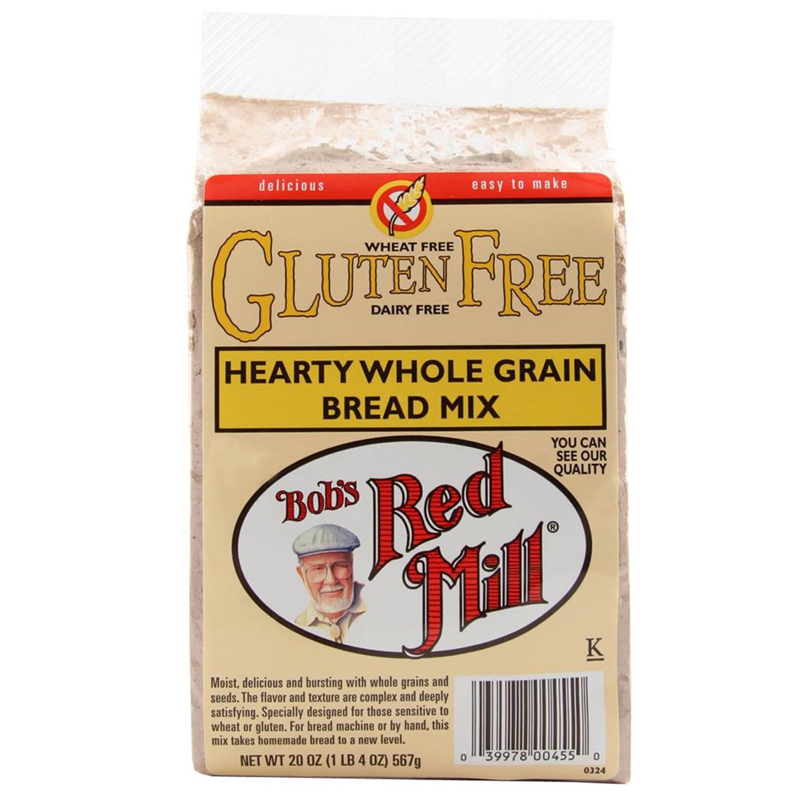 Bob's Red Mill Gluten Free Hearty Whole Grain Bread Mix 4