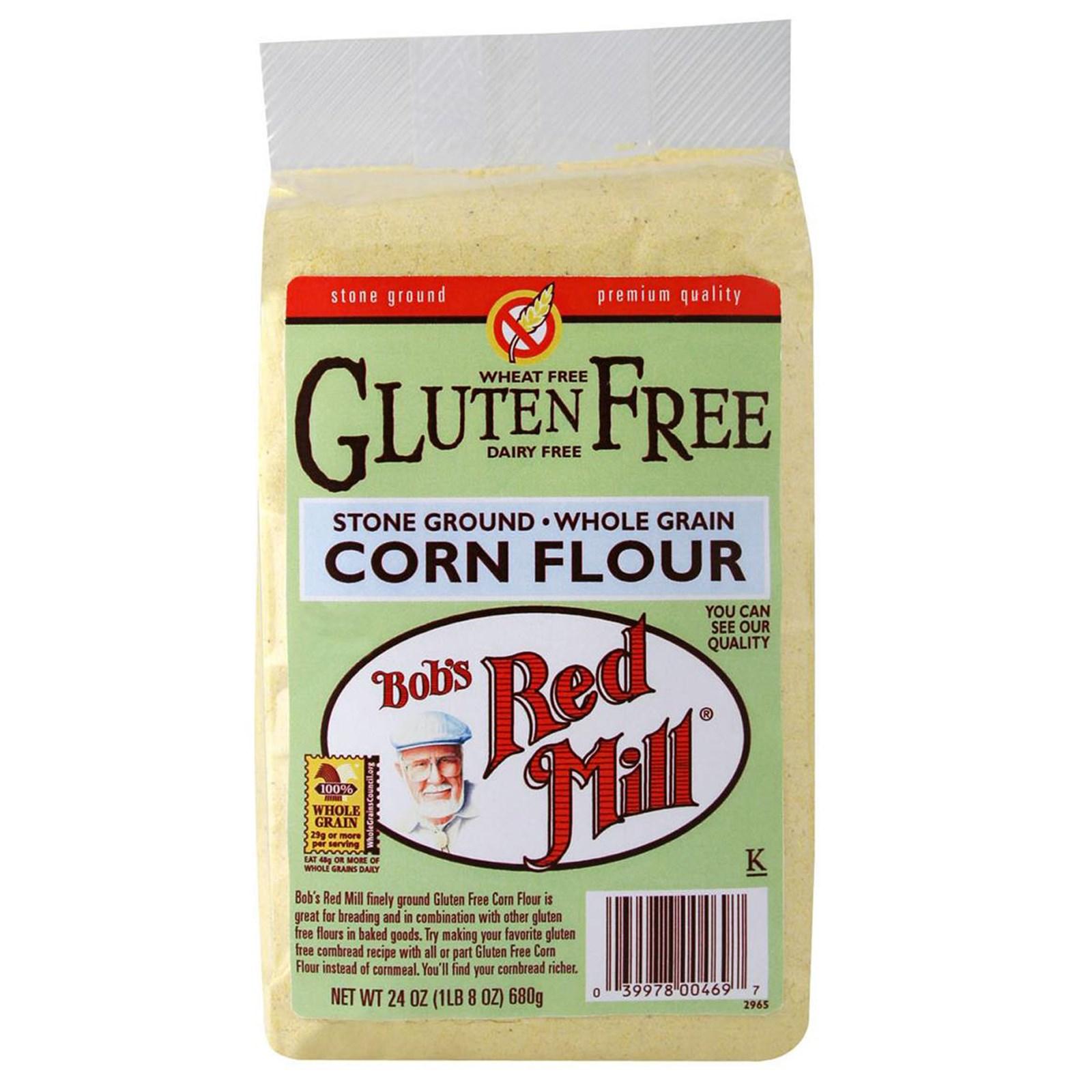 Bob's Red Mill Gluten Free Corn Flour 4/24oz – Mill Creek